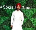 Facebook's #SocialForGood event - Diljit Dosanjh