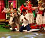 Govinda on the sets of The Kapil Sharma show