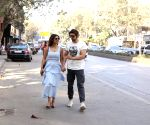Gurmeet Choudhary seen at Juhu