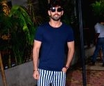 Himansh Kohli seen at a Bandra restaurant