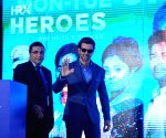 Hrithik Roshan launches Discovery channel's new show HRX Heroes