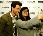 Hrithik Roshan during the launch of a store