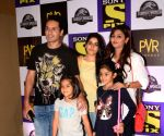 "Special screening of ""Jurassic World: Fallen Kingdom"" - Iqbal Khan, Sneha Chhabra and  Ammaara Khan"