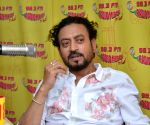Promotion of film Madaari at Radio Mirchi studio