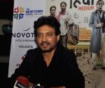 Taking baby steps to merge healing with work: Irrfan