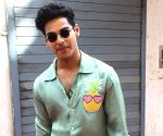 "Ishaan Khattar on Neha Dhupia's show ""Vogue BFFs Season 3"" sets"