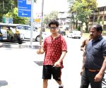 Ishaan Khattar seen at Bandra