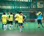 Ishaan Khatter during football match in Mumbai's Bandra