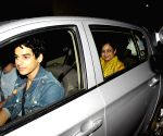 "Special screening of film ""Dhadak"" - Ishaan Khatter and Neelima Azeem"