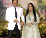 Sonam Kapoor and Anand Ahuja's wedding reception - Jackie Shroff and Ayesha Shroff