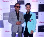 Cover launch of a magazine - Jackie Shroff and Karan Johar