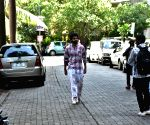 Jackky Bhagnani shoots for a film