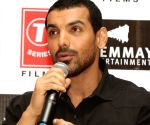 "Promotion of film ""Satyameva Jayate"" - John Abraham"