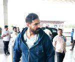 John Abraham spotted at airport