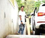 Karan Singh Grover seen at Bandra