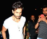 Karan Tacker seen at Mumbai's Bandra