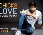 Chicks love a vegetarian: Kartik Aaryan fronts PETA India campaign