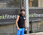 Kartik Aaryan seen at a gym