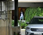 Kartik Aaryan seen at Mumbai's Bandra