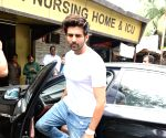 Kartik Aaryan seen at Kalina