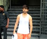 Kartik Aaryan seen outside a gym