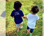 Kunal Kemmu shares cute photo of Taimur Ali Khan and Inaaya Naumi enjoying a day out in park
