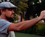 Leonardo DiCaprio at Taj Mahal