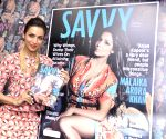 Malaika Arora Khan unveils latest cover of the Savvy magazine