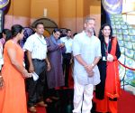 Panaji (Goa): IFFI-2015 - Red Carpet - Subhash Ghai, Nana Patekar