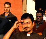 Nawazuddin Siddiqui during shooting of his upcoming film