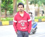 Nikhil Dwivedi seen at Juhu