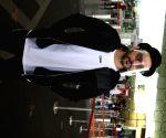 Nitin Mirani seen at Mumbai Airport