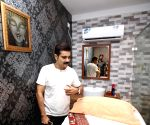 Prosenjit Chatterjee during inauguration of a spa