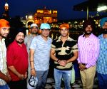 Pulkit Samrat at Golden Temple