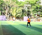 Ranbir Kapoor during a football match