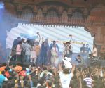 Celebs at Dahi Handi 2014 celebrations organised by MNS leader Ram Kadam