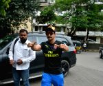 Ranveer Singh seen at Mumbai's Bandra