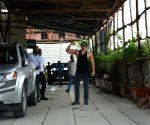 Ranveer Singh seen at a gym