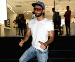 Ranveer Singh seen at a Maple store