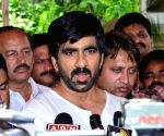 Ravi Teja during a programme