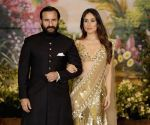 Sonam Kapoor and Anand Ahuja's wedding reception - Saif Ali Khan and Kareena Kapoor Khan