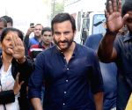 Chef' film shooting - Saif Ali Khan