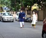 Saif Ali Khan seen at Bandra