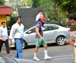 Saif Ali Khan with his son Taimur