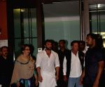 Arpita Khan Pre-Diwali celebration - Salim Khan, Helen and Sohail Khan