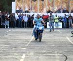 Salman Khan and Aras Gibieza promote Suzuki Gixxer