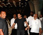 Late producer Raj Kumar Barjatya's prayer meet - Salman Khan