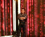 Salman Khan, Katrina Kaif during a programme