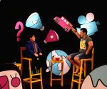 Salman Khan on the set of Disneys Chat Show Captain Tiao