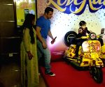 "Trailer launch of film ""Loveratri"" - Arpita Khan Sharma, Ahil and Sohail Khan"
